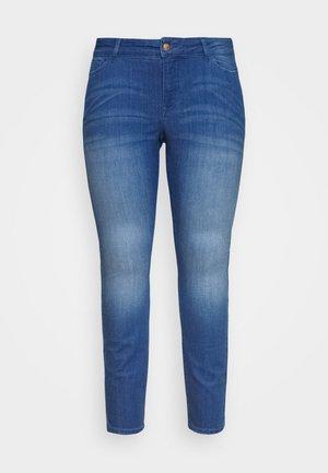 JRFOUR AFIFA  - Džíny Slim Fit - medium blue denim