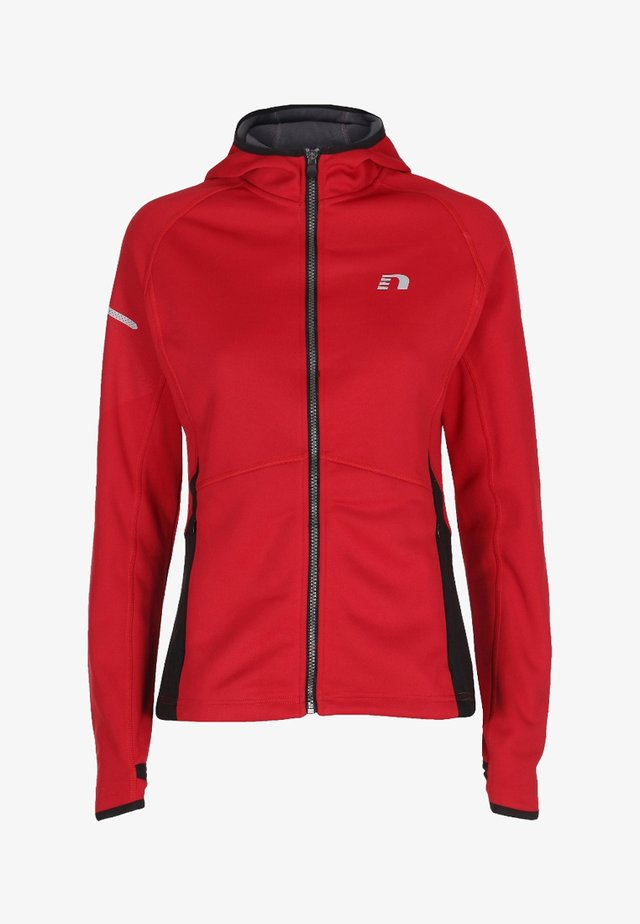 BASE WARM UP - Sports jacket - red