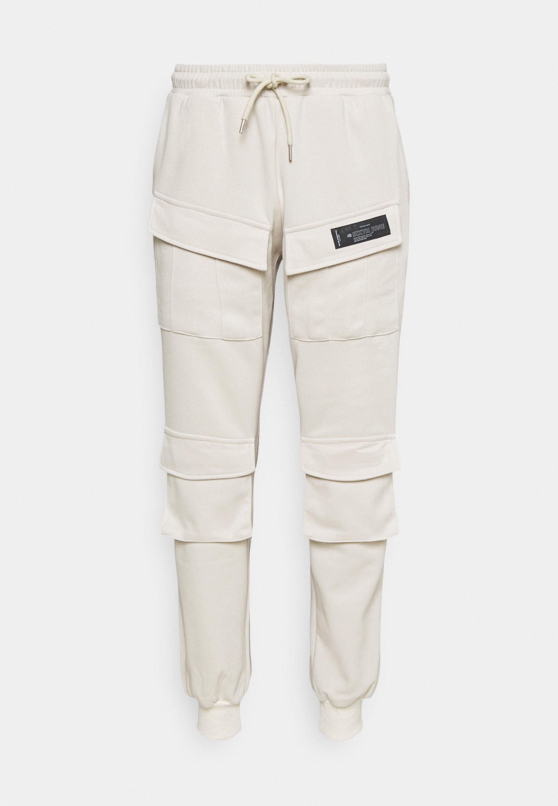 Men PANTS FRONT POCKETS - Cargo trousers