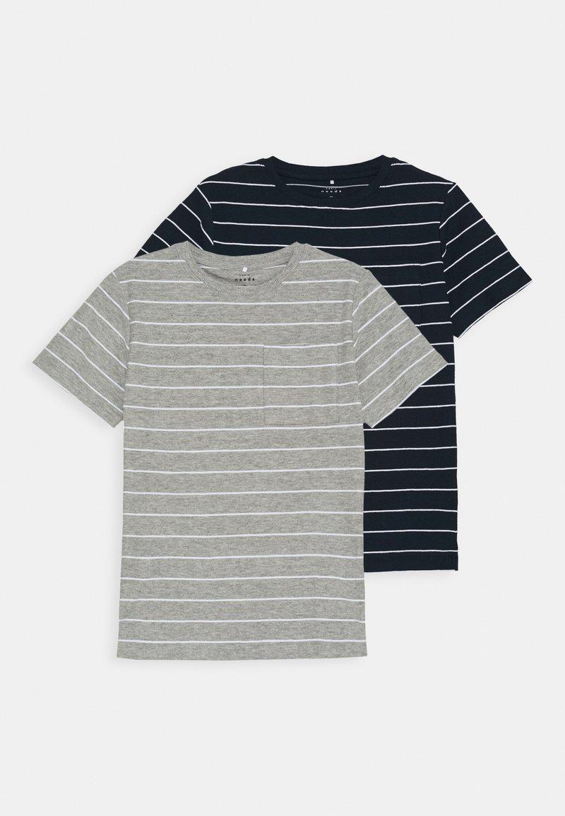 Name it - NKMVES 2 PACK - T-shirt print - dark sapphire