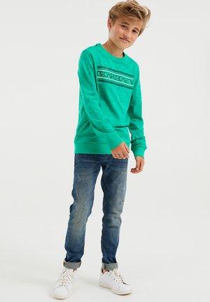 Sweatshirt - bright green
