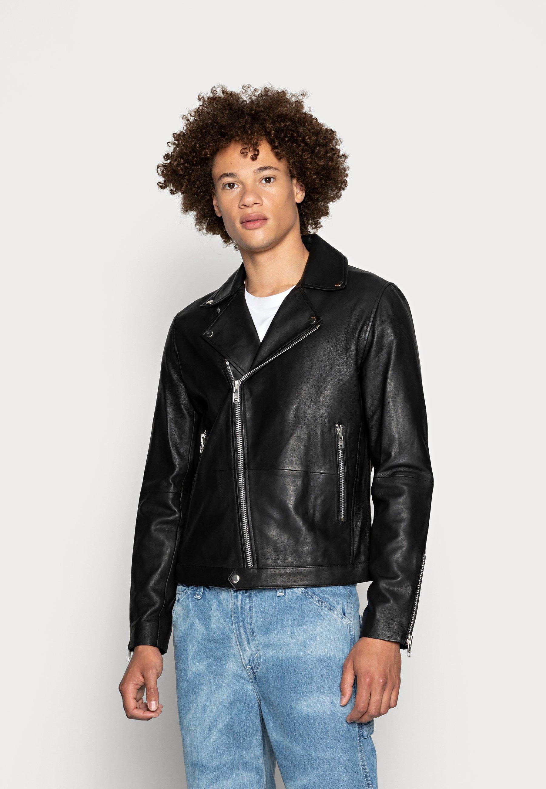 Men SPIKE JACKET  - Leather jacket