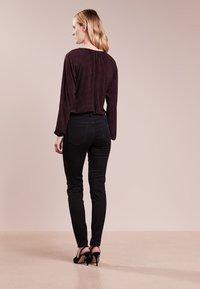 MICHAEL Michael Kors - SELMA SKINNY - Jeans Skinny Fit - black - 2