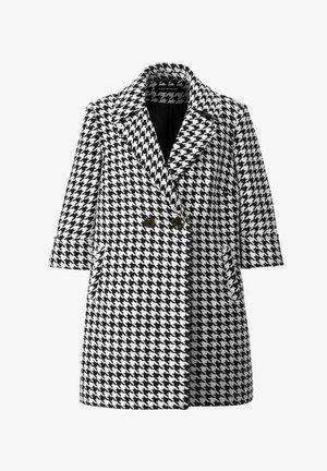 Short coat - schwarz,weiß