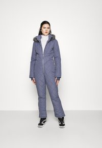 Missguided - SKI QUILTED CORSET SNOW - Jumpsuit - grey - 1