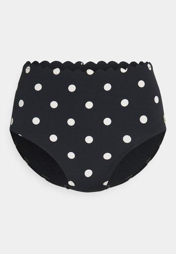 Bikini bottoms - black/white