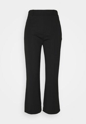 Flared PUNTO trousers - Leggings - Trousers - black