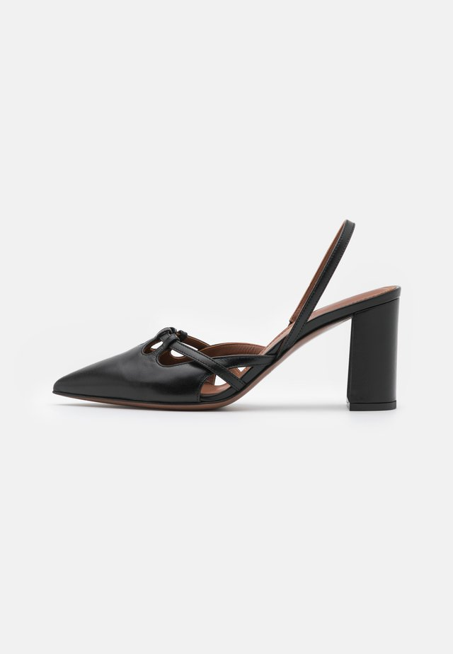 SLINGBACK - Decolleté - black