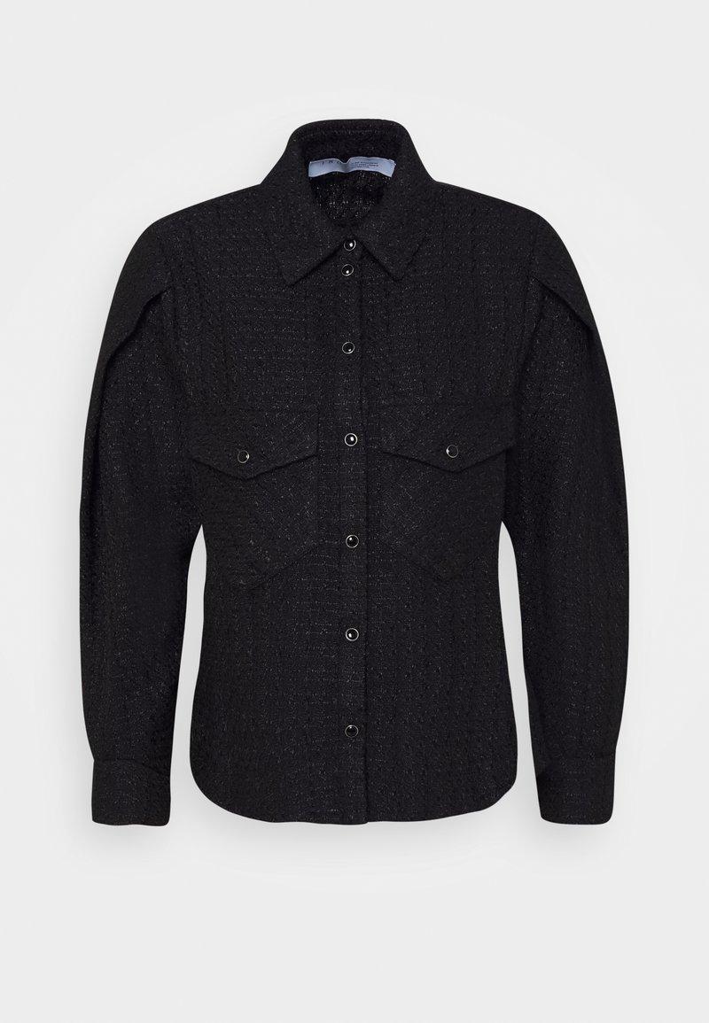 Iro - RAPID - Košile - black/navy