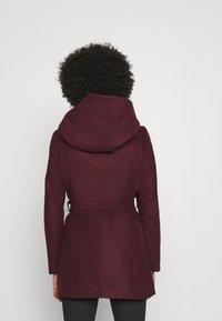 ONLY - ONLCANE COAT - Krátký kabát - bordeaux - 2