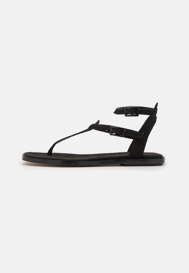 VEGAN JULIETA - Flip Flops - black