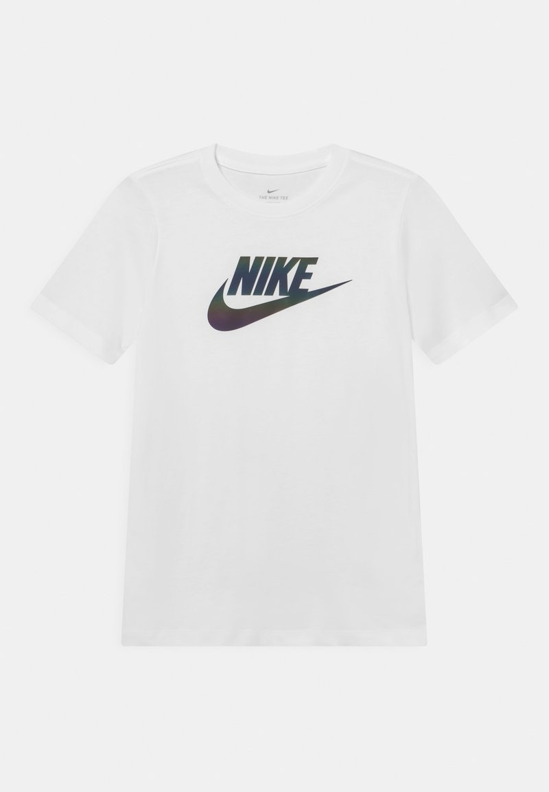 Nike Sportswear - CHROMATIC FUTURA - T-Shirt print - white
