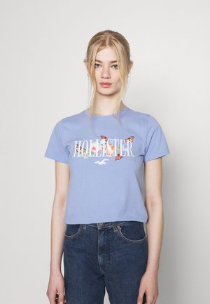 TECH CORE - T-shirts med print - medium blue