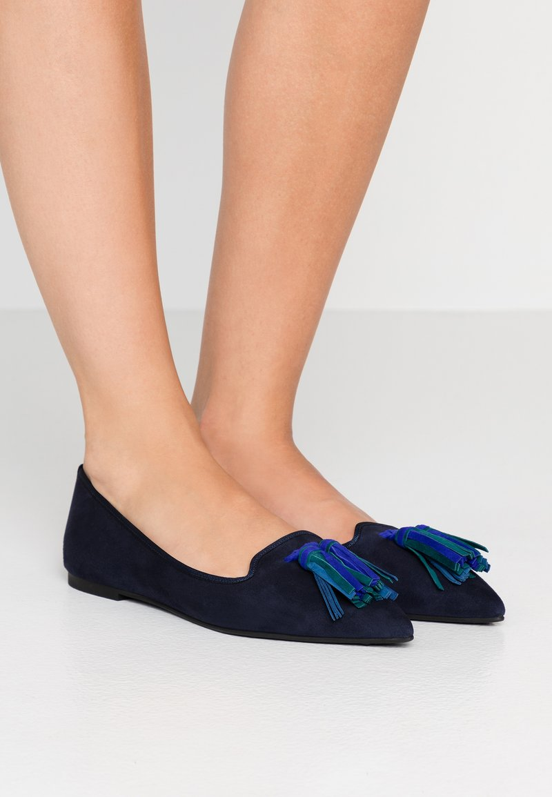 Pretty Ballerinas - ANGELIS - Baleríny - navy blue/majorelle