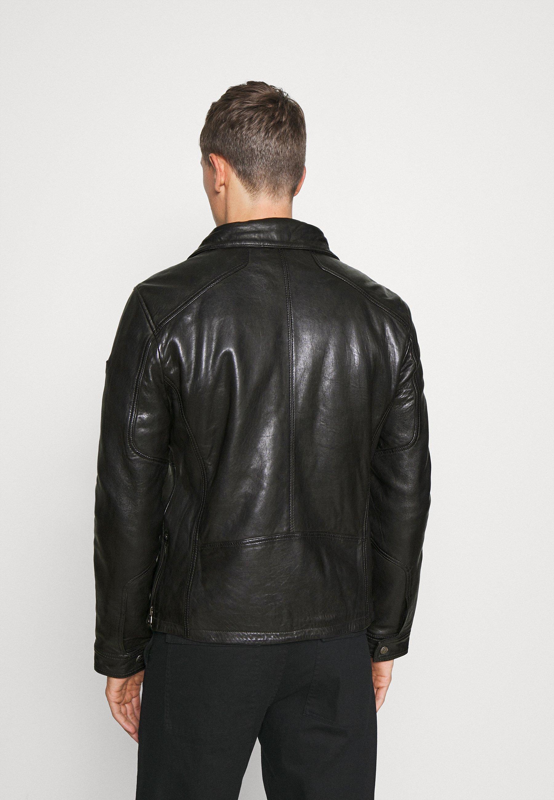 Men GMOYSTO - Leather jacket