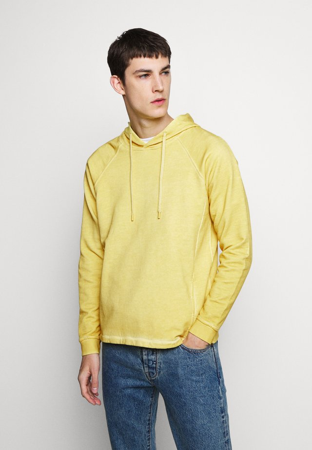 RIVET HOODIE - Sweat à capuche - cold light gold