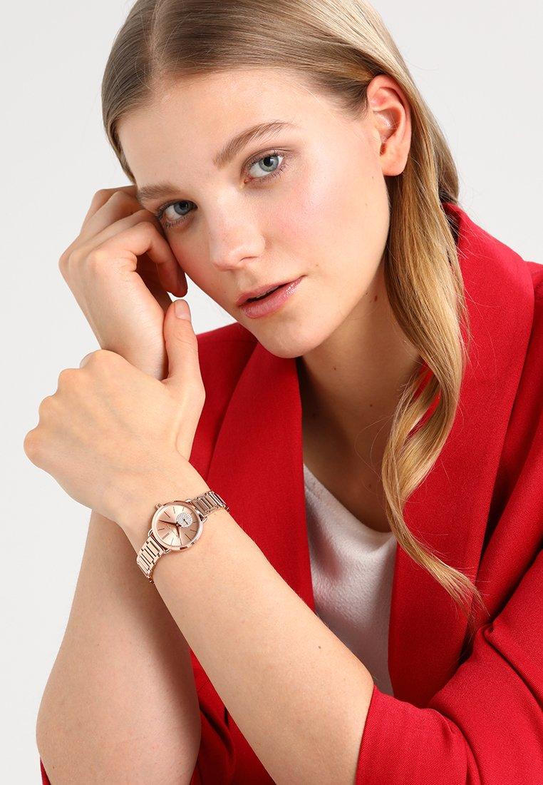 Michael Kors - PORTIA - Watch - roségold-coloured
