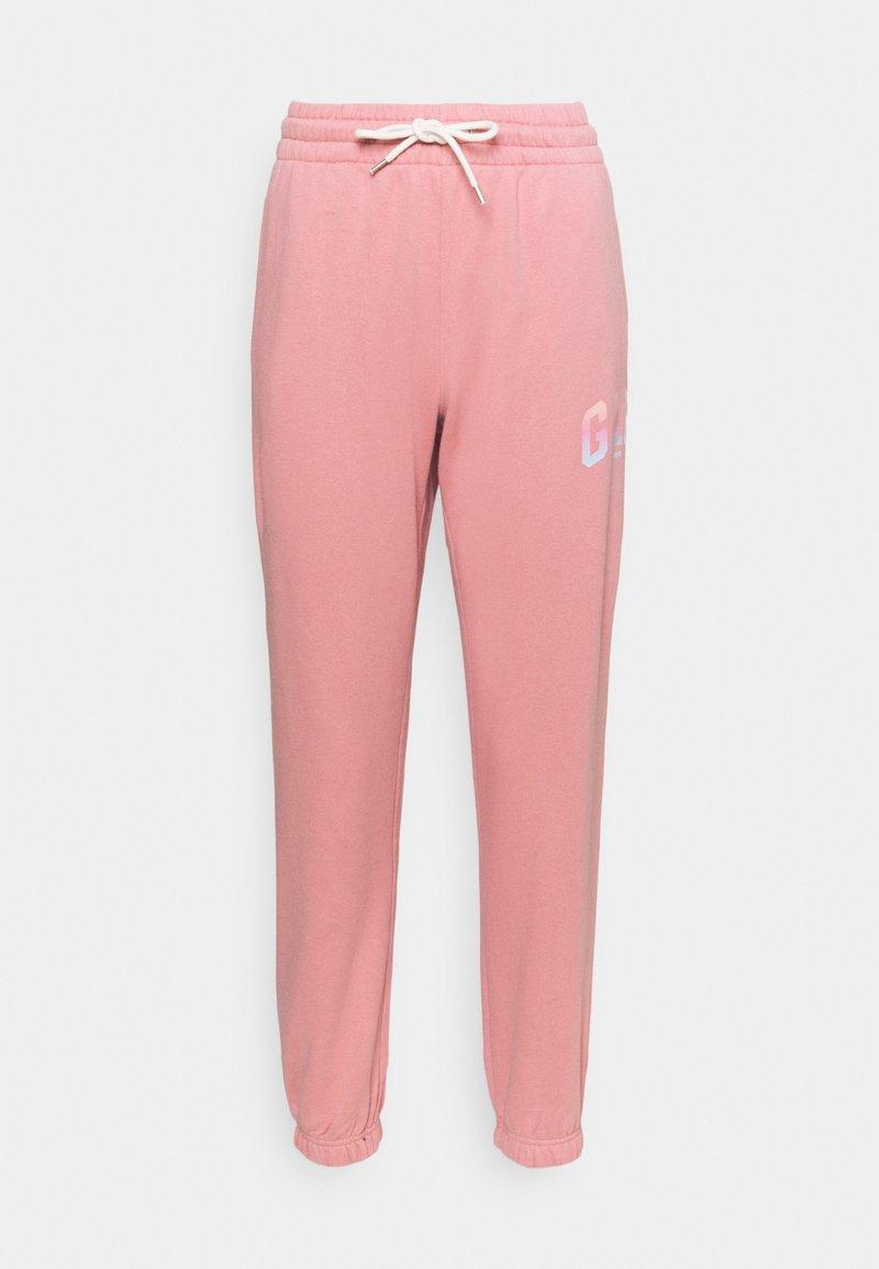 GAP - SHINE - Tracksuit bottoms - potpourri pink