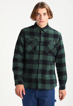 LANSDALE SHERPA LINED  - Skjorter - pine green