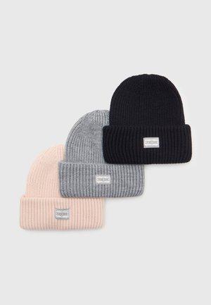 3 PACK UNISEX - Pipo - black/grey/light pink
