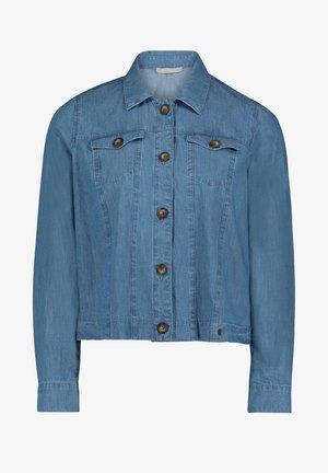 MIT TASCHEN - Denim jacket - blau