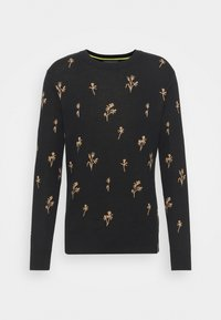 CREWNECK WITH ALLOVER PATTERN - Jumper - combo