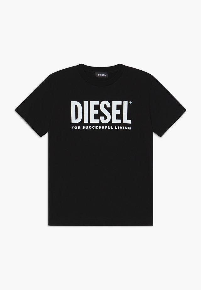 TJUSTLOGO MAGLIETTA - T-shirt con stampa - nero