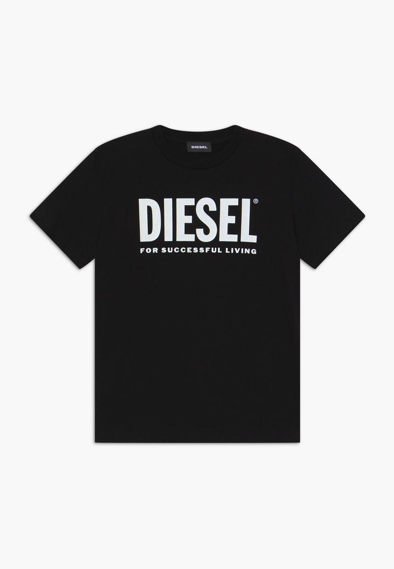 Diesel - JUSTLOGO MAGLIETTA - Print T-shirt - nero
