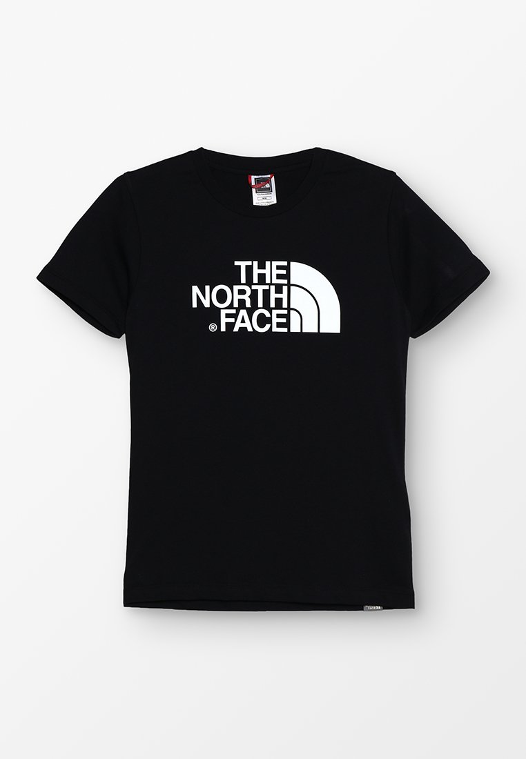 The North Face - YOUTH EASY UNISEX - T-shirt imprimé - black/white