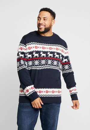 NORWEGIAN CHRISTMAS - Jumper - navy