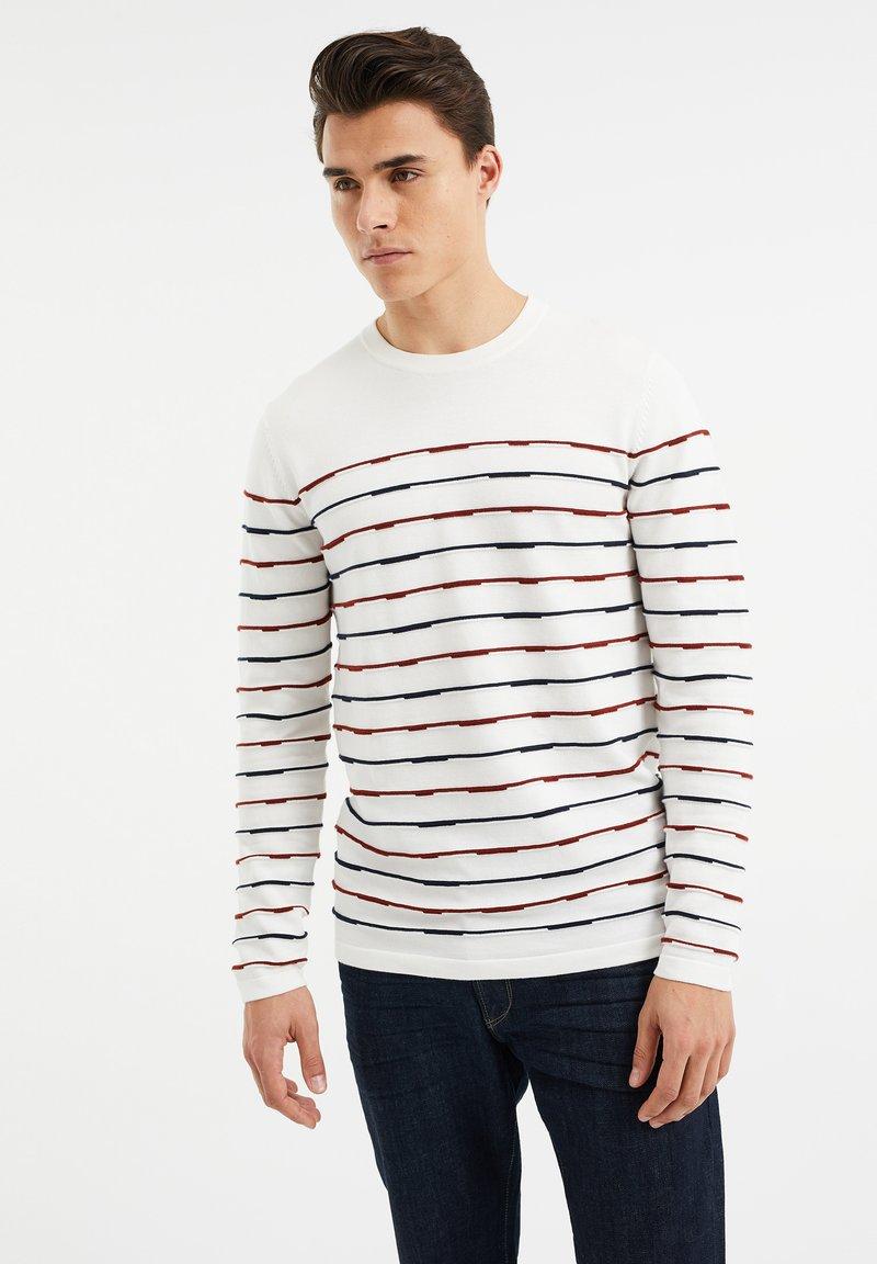 WE Fashion - Sweatshirt - white