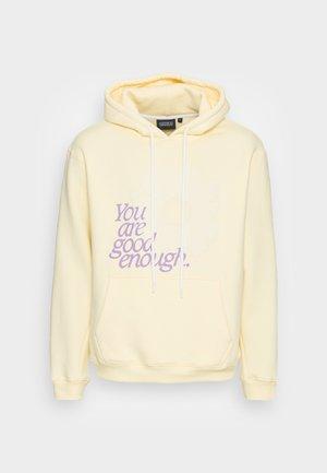 FLOWER HOODY - Sweatshirt - yellow