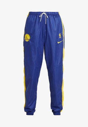 NBA GOLDEN STATE WARRIORS WOMENS SNAP PANT - Pantalones - rush blue/amarillo