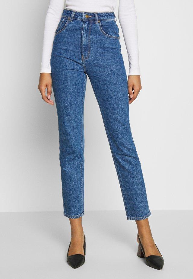 DUSTERS - Slim fit jeans - sadie blue