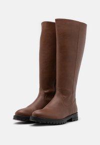 NAE Vegan Shoes - LOU VEGAN - Saappaat - brown - 2