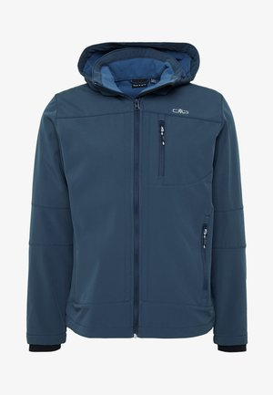 MAN JACKET ZIP HOOD - Soft shell jacket - cosmo