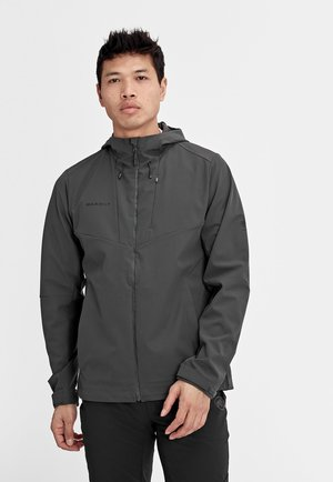 Soft shell jacket - phantom