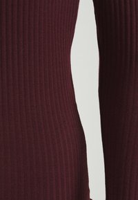 ONLY - ONLEMMA HIGH NECK - Long sleeved top - madder brown - 2