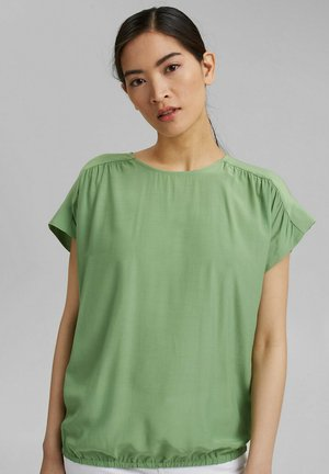 Blouse - leaf green