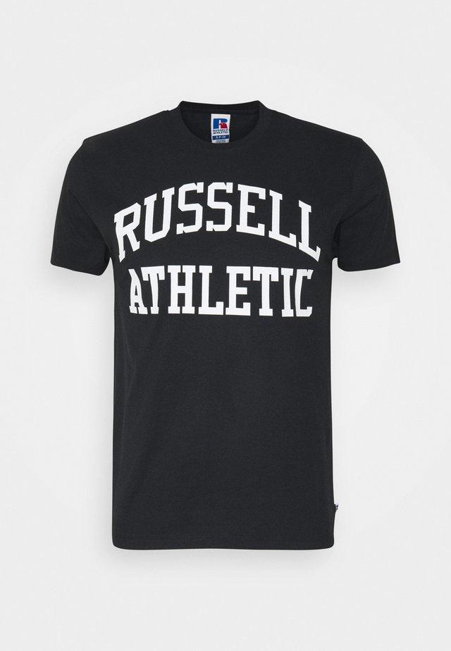 ARCH LOGO CREWNECK TEE UNISEX - T-shirt med print - black