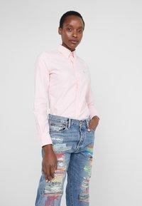 Polo Ralph Lauren - OXFORD KENDAL SLIM FIT - Button-down blouse - pink - 0