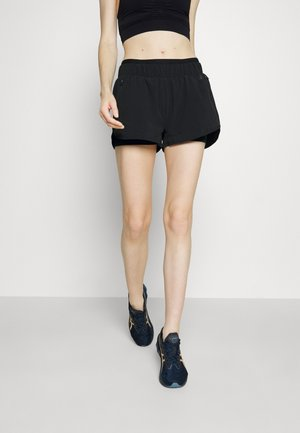 ON YOUR MARKS RUNNING SHORTS - Sports shorts - black