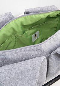 Lässig - NECKLINE BAG - Baby changing bag - black melange - 4