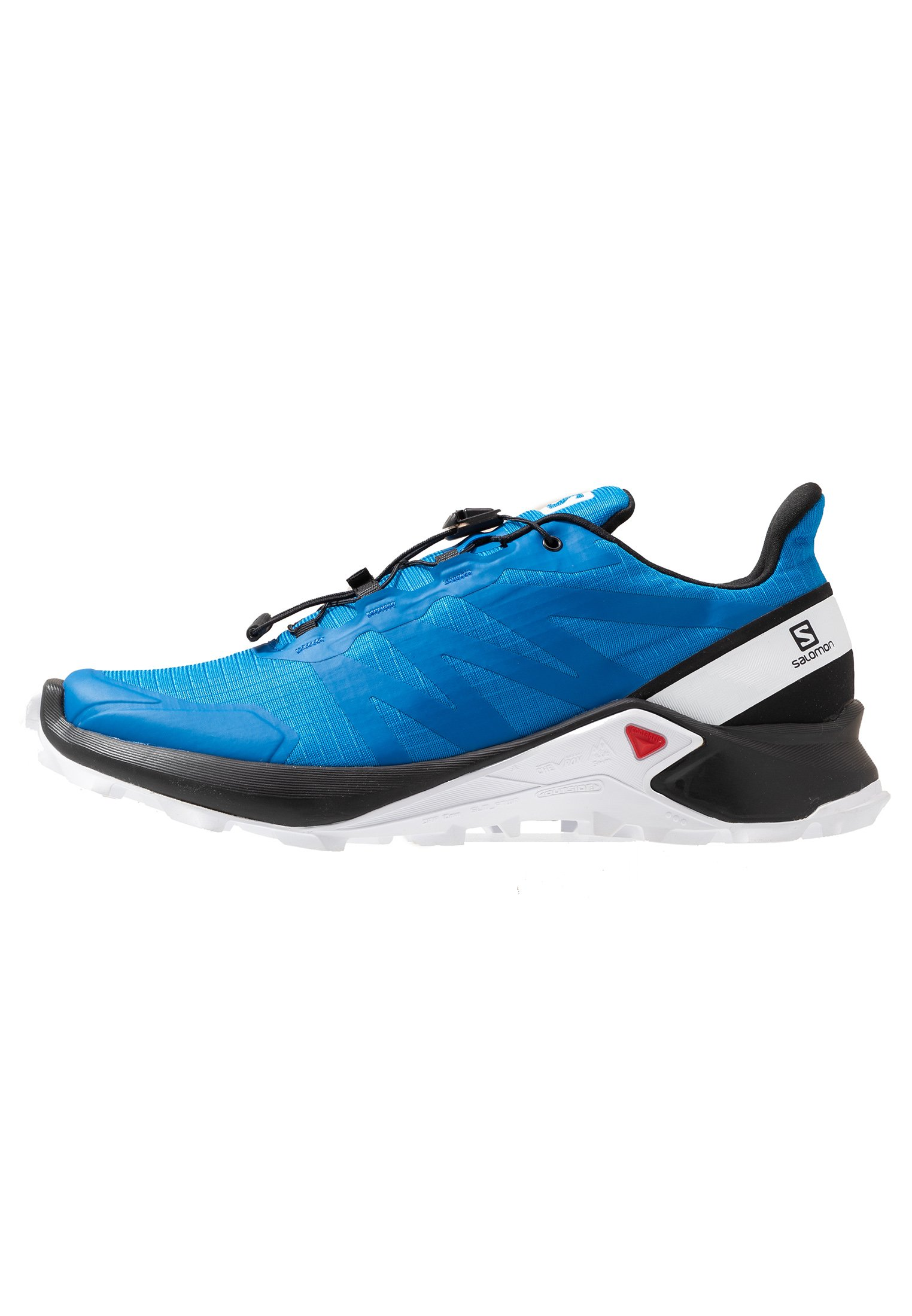 SUPERCROSS MEN - Zapatillas de trail running - indigo bouting/ black/ white
