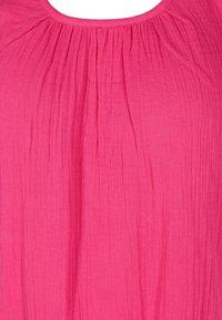 Zizzi - Day dress - fuchsia purple - 2