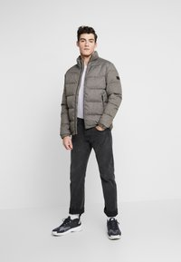 Jack & Jones - COSPY JACKET - Winter jacket - grey melange - 1