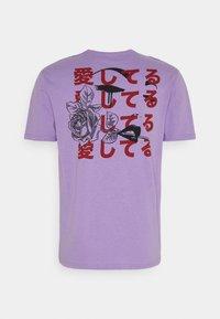 YOURTURN - UNISEX - Print T-shirt - purple - 7