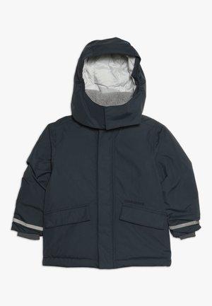 OSTRONET KIDS JACKET - Waterproof jacket - navy dust