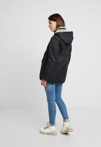 MAMALICIOUS - MLARUNA ZIPPY SIDE PADDED JACKET - Light jacket - black - 2