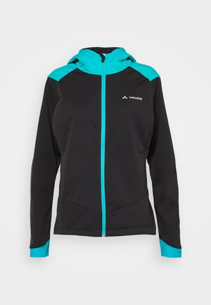 WOMENS QIMSA JACKET - Soft shell jacket - black